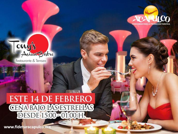 https://flic.kr/p/Rzupmy | Cena con tu pareja bajo las estrellas en Tony's Asian Bistro de Acapulco. GASTRONOMÍA DE MÉXICO 4 | #gastronomiademexico Cena con tu pareja bajo las estrellas en Tony's Asian Bistro de Acapulco. GASTRONOMÍA DE MÉXICO. Hoy puedes tener una cena romántica con tu pareja en Tony's Asian Bistro, ya que habrá un evento especial por el día del amor y la amistad que contará con platillos deliciosos, música tranquila y una excelente vista al mar. Si deseas obtener más…