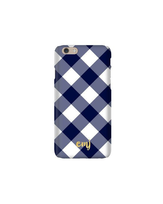 Give your phone a little Pretty Smitten style with our personalized case! This listing features our new Buffalo Check design.  All of our phone