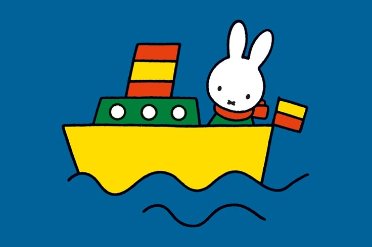 Sometimes Miffy feels like a ship in the night.