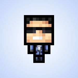 Minecraft avatar maker - enter your Minecraft username and it makes a cartoon avatar of your character that you can download and use.