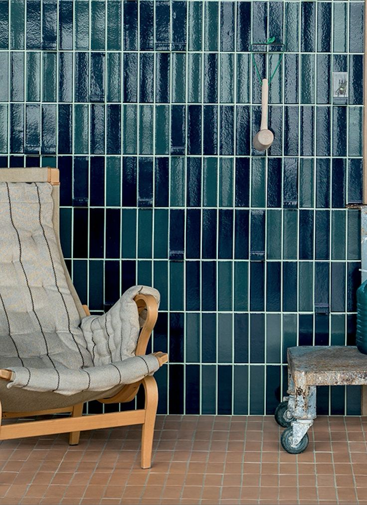 Tierra Turquoise Tiles by Patricia Urquiola for Mutina