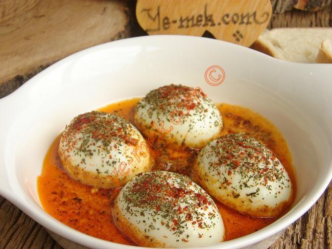 Tereyağlı Yumurta Kapama Resimli Tarifi - Yemek Tarifleri