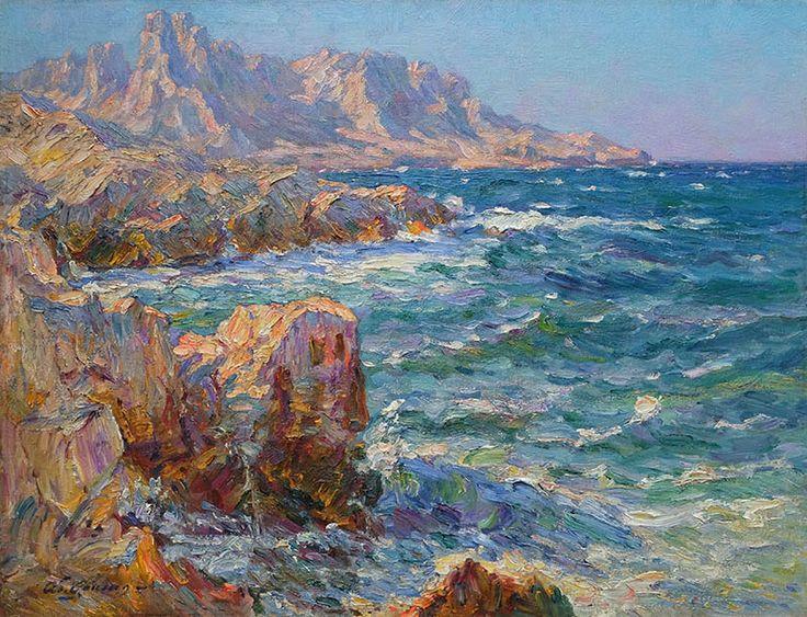 'La Côte' by Adolphe Louis Gaussen