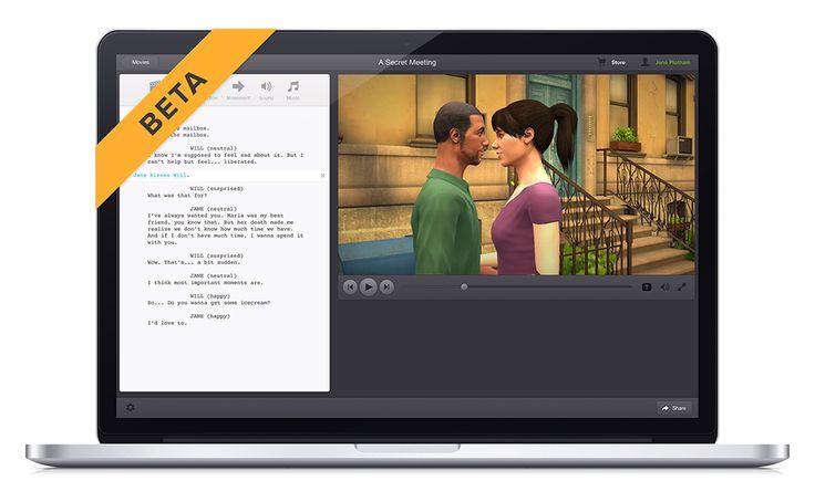 Plotagon - Movie-making for everyone on PC/Mac, similar to Xtranormal