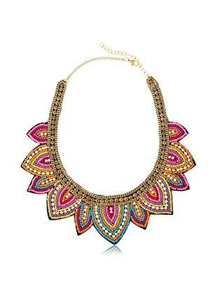 49% OFF Chloe & Theodora Calypso Beaded Collar Necklace