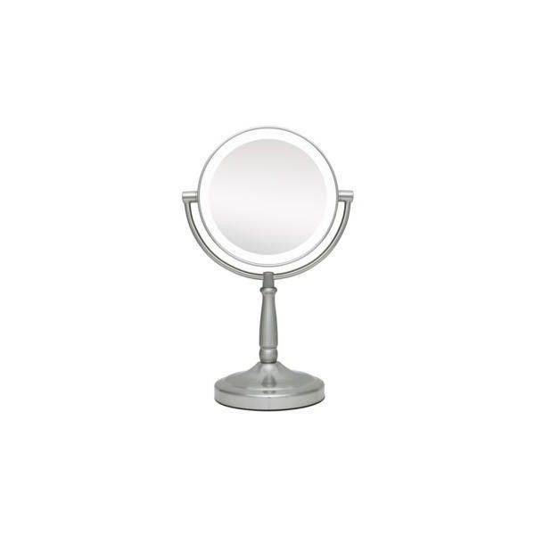 "Zadro Cordless LED Lighted Pivoting 7"" Wide Vanity Mirror ($70) ❤ liked on Polyvore featuring home, bed & bath, bath, bath accessories, mirrors, lit vanity mirror, lighted magnifying vanity mirror, zadro, lighted magnifying makeup mirror and lighted makeup mirror"