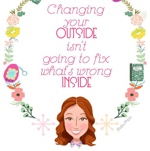 A Unbreakable Kimmy Schmidt fan art I created this new style of print, I love this show and Kimmys quotes!  The quote can be totally customized!