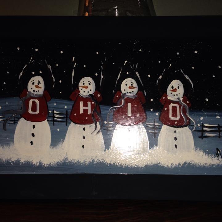 Ohio Snowmen
