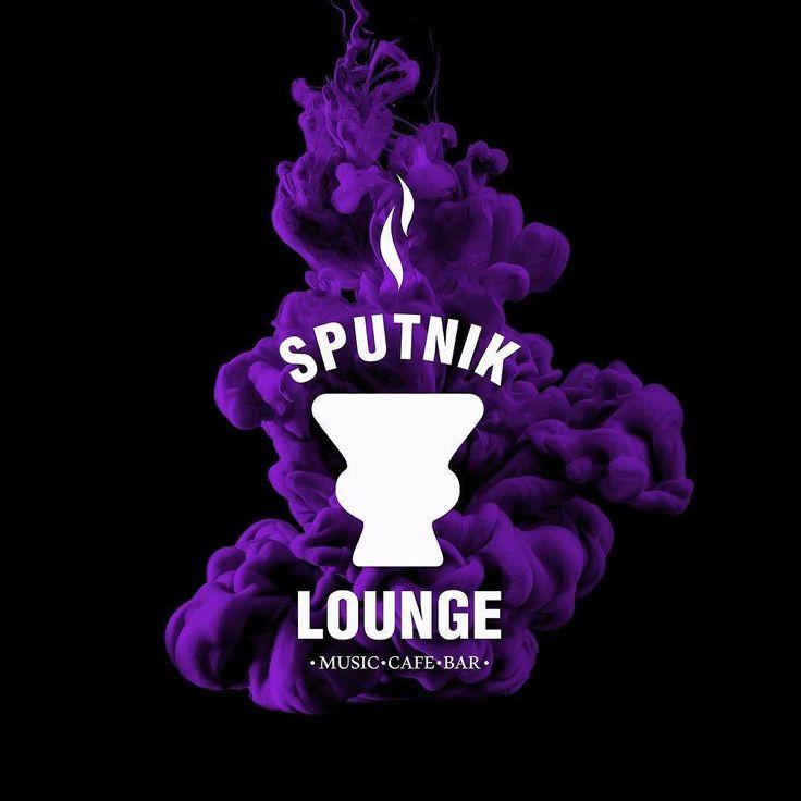 Логотип для лаундж бара там где хорошая музыка дым еда и напитки #lampa #logo #туймазы #loungebar