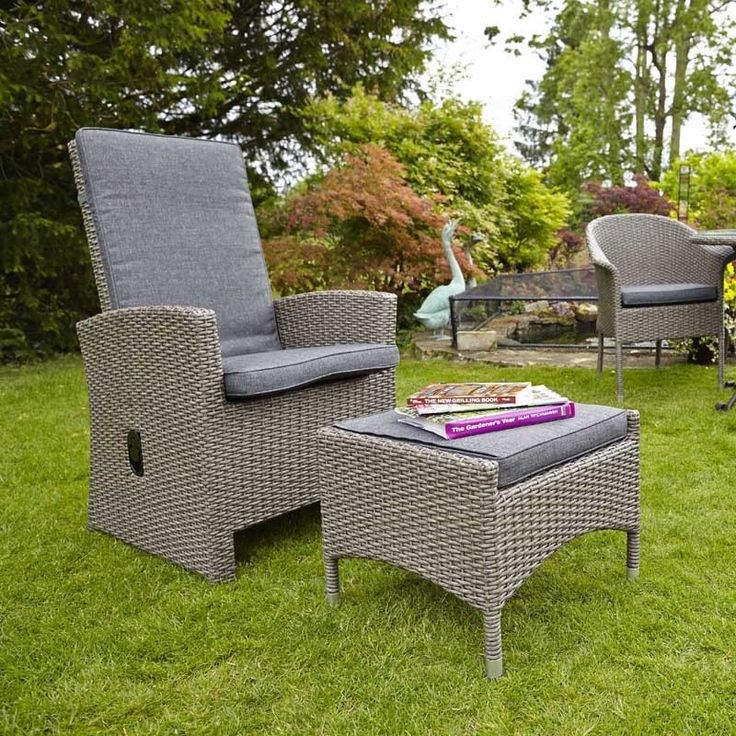 9 best lg outdoor saigon rustic weave outdoor furniture collection saigon rustic reclining highback armchair and footstool perfect outdoor furniture accessory in weave workwithnaturefo