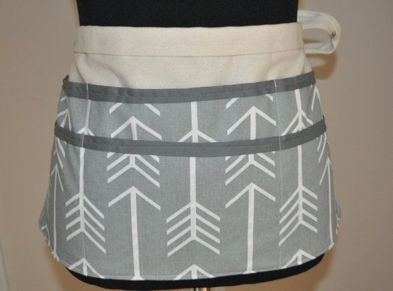 Utility Apron  Teacher Apron Women's Vendor Apron by CraftyMom75