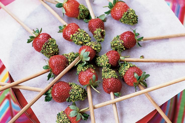 These sweet chocolate-dipped strawberries are delicious treats for the ones you love.