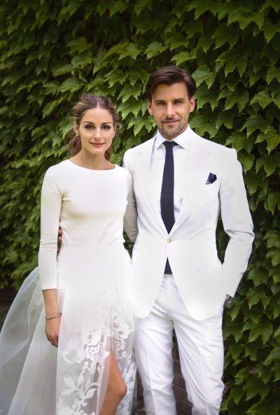 fixatedonfashion:  Olivia Palermo married Johannes Huebl in Bedford, New York