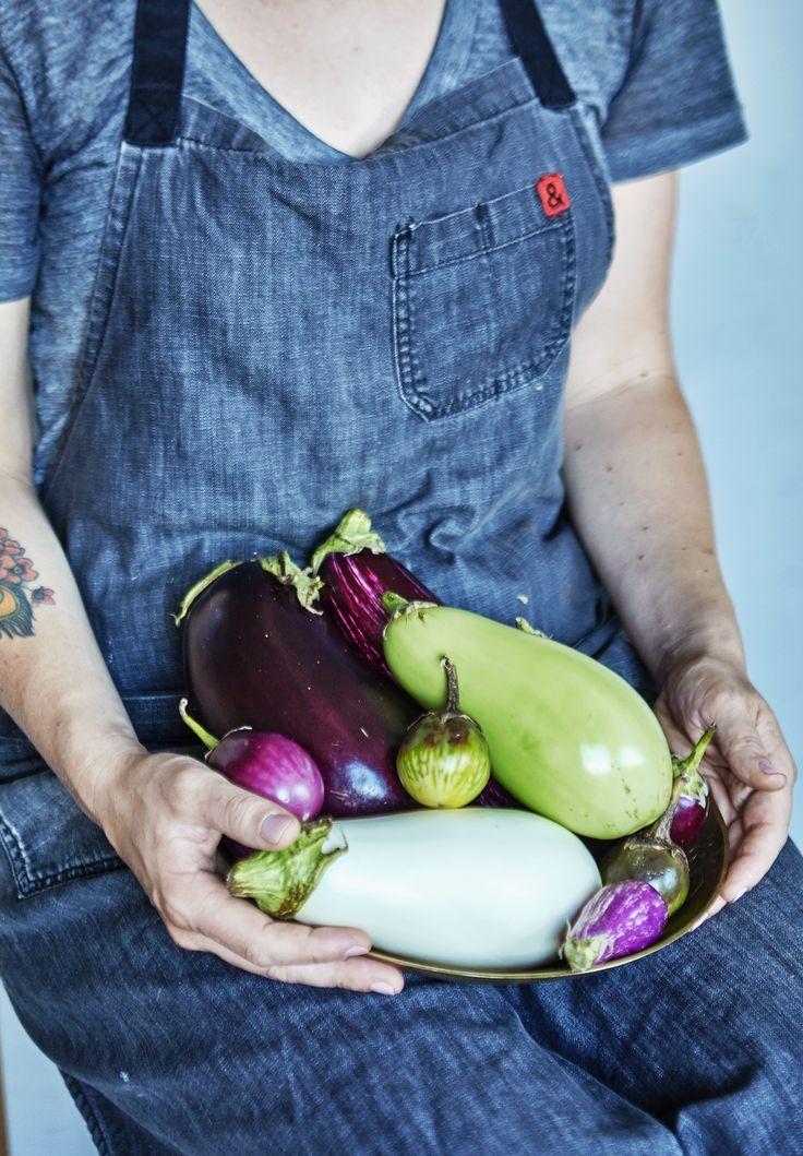 If you've only ever picked up an eggplant at the grocery store, you may think that each and every eggplant is the same — large, oblong, and deep purple