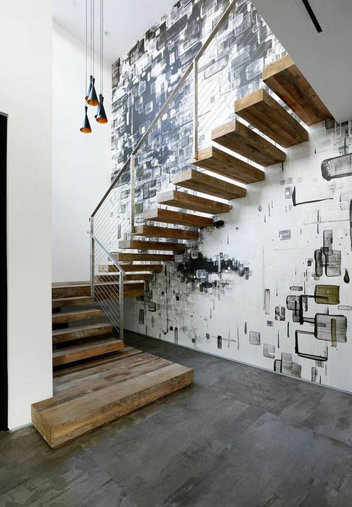 43 photospour fabriquer un escalier en bois sans efforts - fabriquer escalier exterieur bois