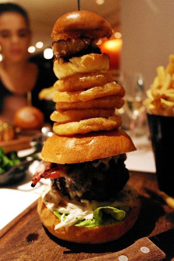 The Stack Burger - The Londoner - For when Jacqueline gets to London! Never mind :'( like 20 pounds...