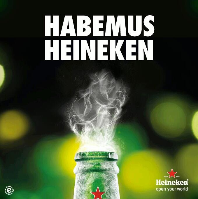 Instant advertising by Heineken