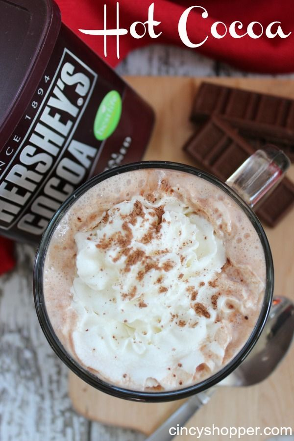 Traditional Hot Cocoa Recipe....I always make it this way...it's the only way
