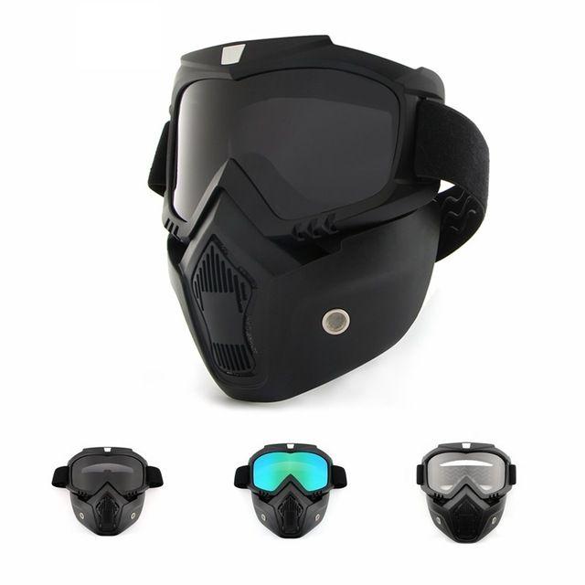 Unisex Cycling Face Mask Skiing Hiking Black Full Bicycle Bike Road Mountain MTB
