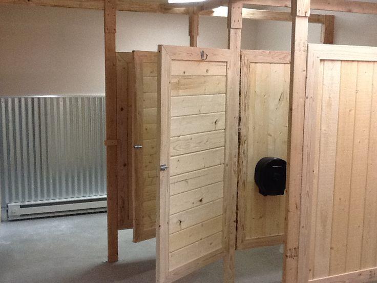 Bathroom Stall Dividers In 2019 Bathroom Barn Door