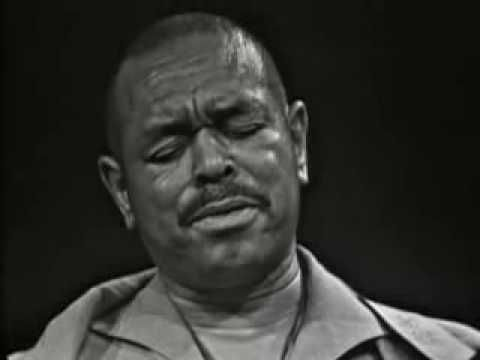 """Brownie McGhee plays guitar and sings, Sonny Terry on harp and Willie Dixon on bass make up this incredible trio. Performing """"Born and Living With The Blues"""" in 1966."""