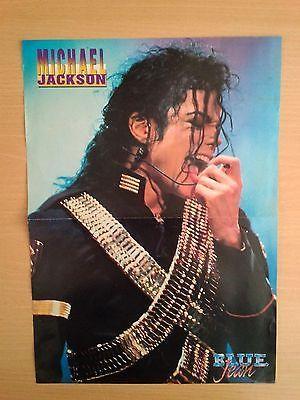 ERIKA ELENIAK - MICHAEL JACKSON Double Side POSTER 90's - From Turkish Magazine - http://www.michael-jackson-memorabilia.com/?p=6190