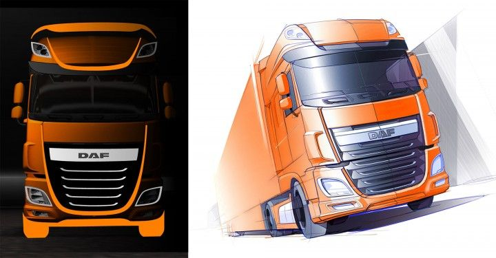 New DAF XF - Design Sketch
