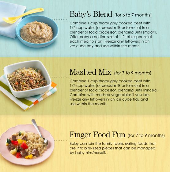 Great tips on making easy healthy baby & infant foods