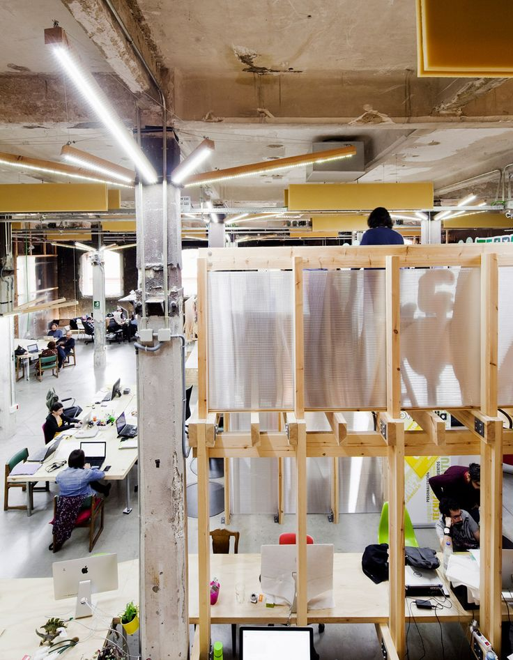 Venice Architecture Biennale 2016 Factoria Cultural Matadero in Madrid by  Office for Strategic Spaces repurposes a disused industrial building as a  working ...