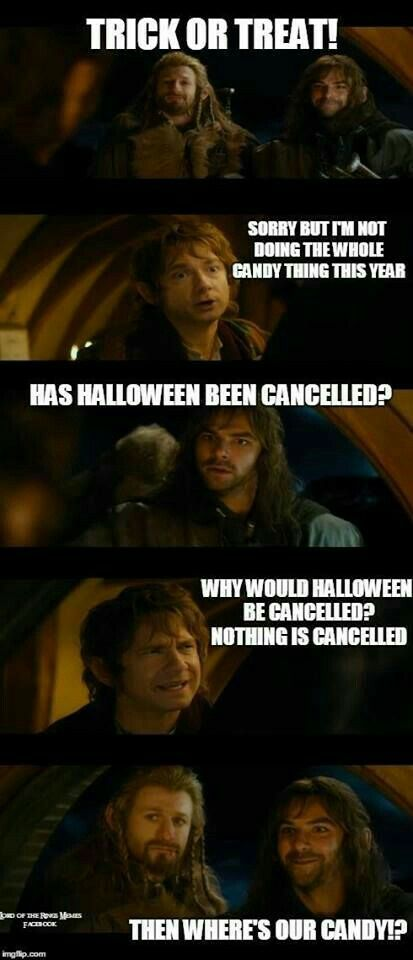 Lord of the Rings Trick-or-treating
