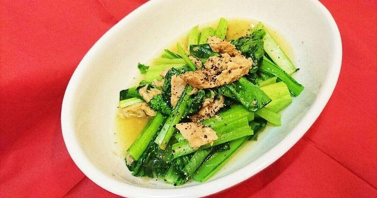 「こまつなパン」「鶏挽き肉と小松菜の玉子炒め」「レンチン小松菜と油揚げのおひたし」「レンジで簡単!ちくわと小松菜の和物」など