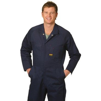Mens Coverall Customised Pre-shrunk Drill Min 25 - 310gsm 100% Cotton Drill (UPF) 50+, Excellent Protection (*Stout). http://www.promosxchange.com.au/mens-coverall-customised-preshrunk-drill/p-8220.html
