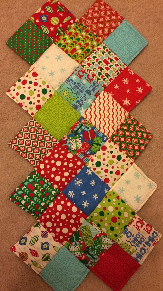 Zig Zag Christmas table runner Quilts Pinterest Runners, Tables and Christmas