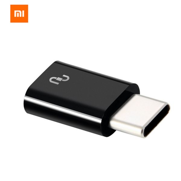 Original Xiaomi USB Type-C Male to Micro USB Female Adapter for Mobile Phone