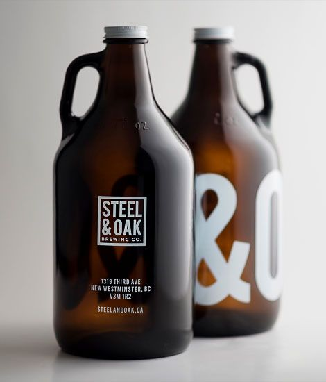 Steel & Oak Growler #beer