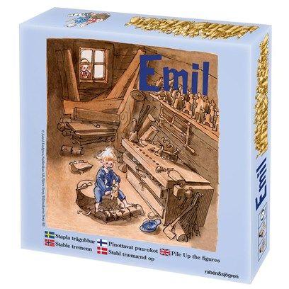 Emil i Lönneberga, Stapla trägubbar, Spel