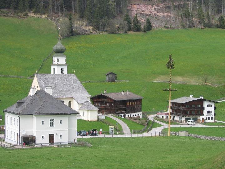 small village Thierbach in Wildschönau/Tyrol