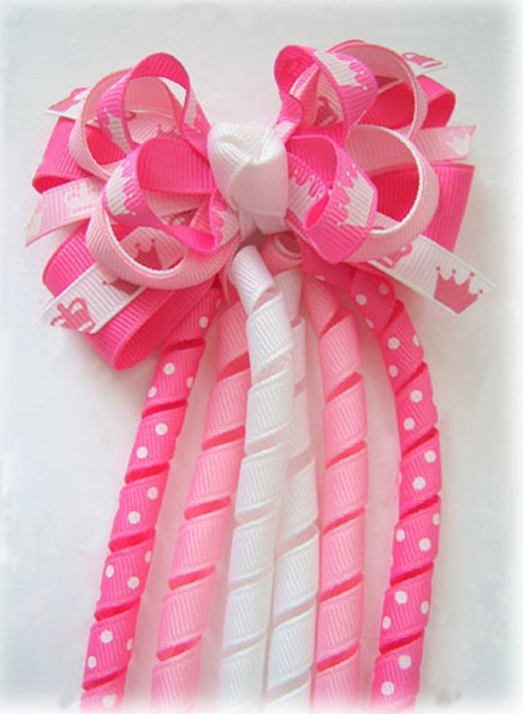 hair bows girls ideas