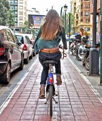 valencia; carril bici