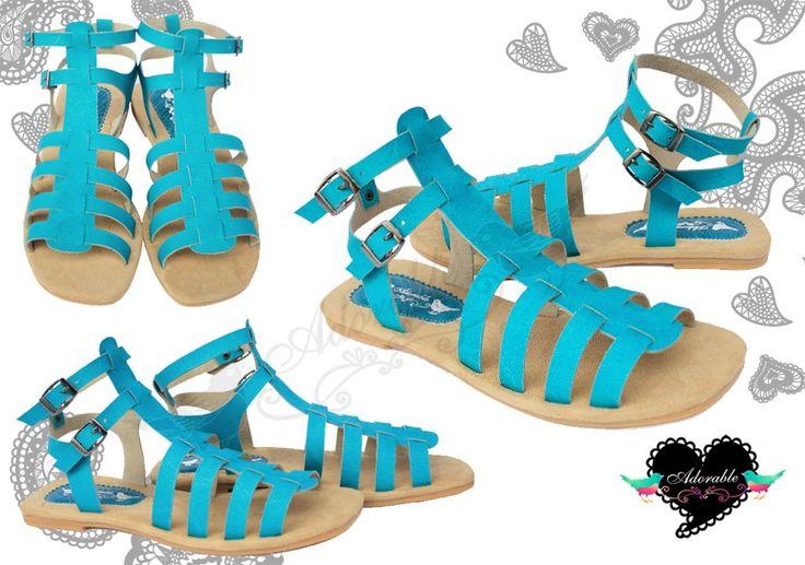 Sabree Skyblue Sandals 115K