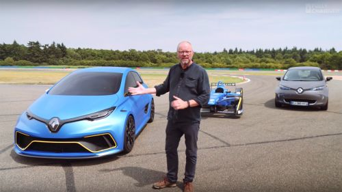 Go for a drive in the silently bonkers Renault Zoe e-Sport