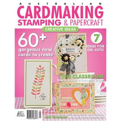 Cardmaking, Stamping & Papercraft - Volume 19 No.3 (just $1.95). Find out more at: http://www.patchworkandcraft.com.au/digital-magazines/cardmaking-stamping-papercraft-volume-19-no-3.html
