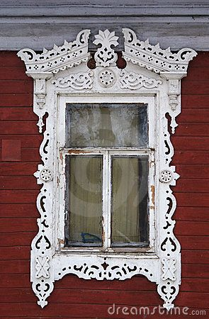 Victorian window trim