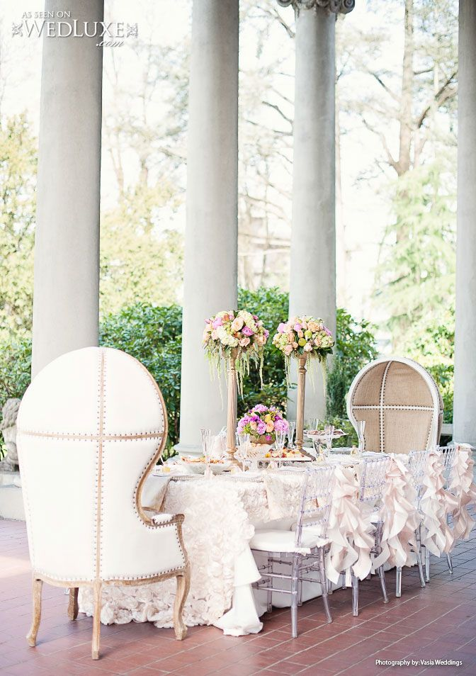 Beautiful Outdoor Wedding Reception And Ceremony Decor
