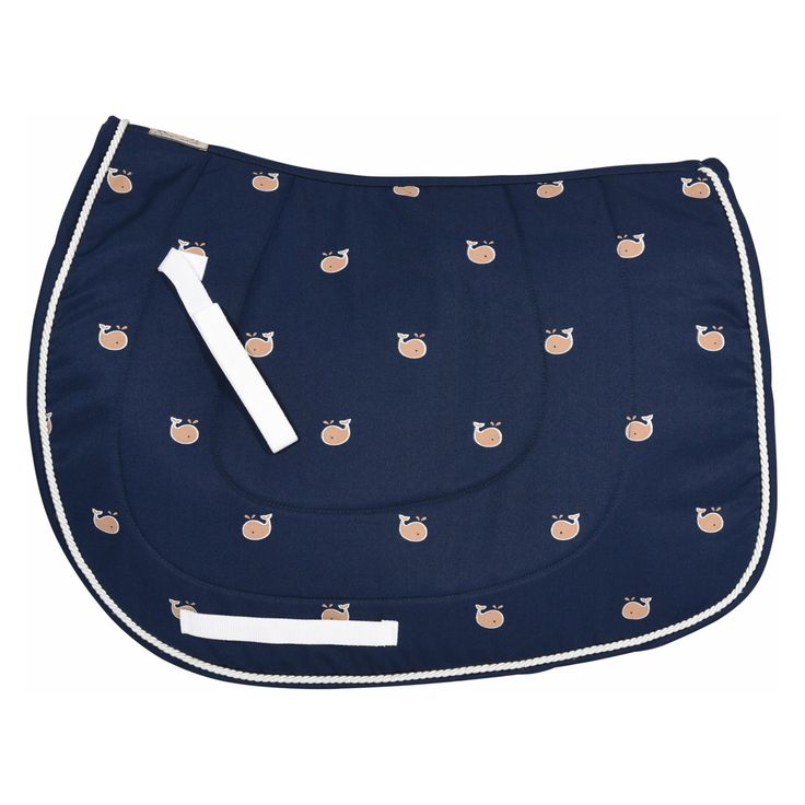 Equine Couture Whales Pony Saddle Pad - 110690-15/STD