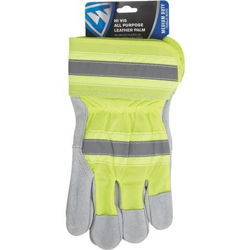 West Chester Xl Hi-Vs Splt Lthr Glove 70501-XL Unit: Pair, Yellow