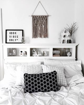 Black U0026 White Bedroom Is So Lovely ♡