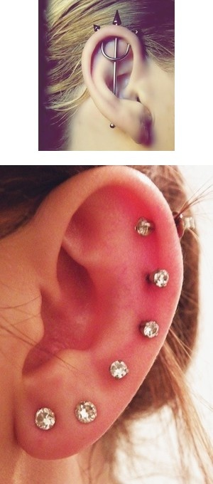 """""""Peircings"""" by forevermindless19 ❤ liked on Polyvore"""