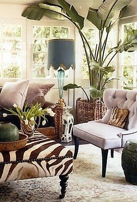 <3<3 Fave room! So creative, daring, soft and bold at the same time...