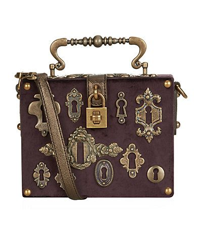 Buy Dolce & Gabbana Velvet Dauphine Box Bag at harrods.com. Shop women's designer accessories online & earn reward points. Luxury shopping with Free UK Returns.